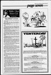 Yesterday - Dedication of cross at Legion plot, Groveside Cemetery, July 26, 1936