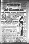 Full page advertisement fo Rosenberg's of Evanston