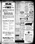$5.00 in gold will be given absolutely free to the first person presenting this advertisement and making a purchase of $15 or over in our store Friday morning [Smith-Duce Co.]