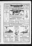 Full page advertisement for Rosenberg's of Evanston