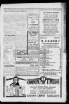 Advertisement for E. J. Galitz groceries