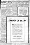 Advertisement for Garden of Allah