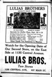 Advertisement Lulias Brothers