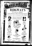 Advertisement for children's clothing store, Carroll Ridgway, Inc., 1160 Wilmette avenue.