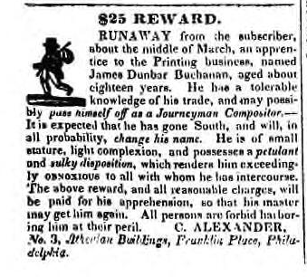 From the British Whig, Kingston, ON, May 1, 1835. Courtesy the Kingston Frontenac Public Library.
