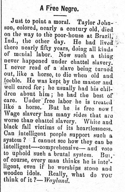 From the Fenelon Falls Gazette, March 28 1902. Courtesy the Kawartha Lakes Public Library Digital Archive.